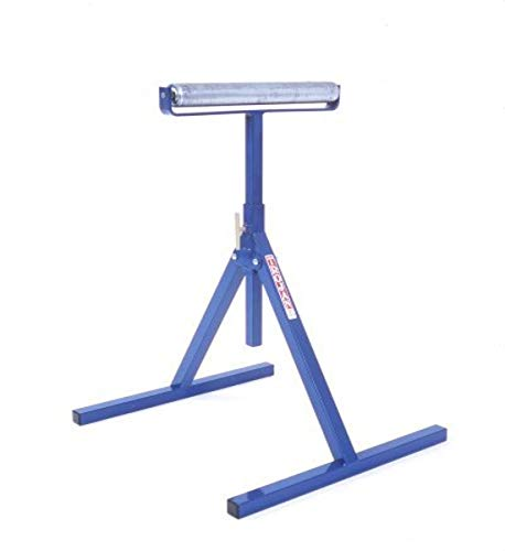 Trojan RS-15 Adjustable 24-Inch to 40-Inch Multi-Directional Pedestal Roller Stand with 15-Inch Roller