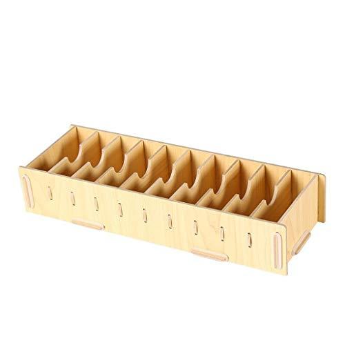 Boîte de rangement for cartes de visite grande capacité Boîte de rangement for classification, porte-cartes de visite Creative grande capacité, panneau de fibres de bois Embellissez votre étui de cart