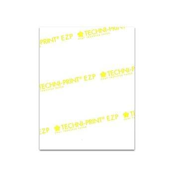 Techni-Print EZP Laser Heat Transfer Paper 8.5 x11  25