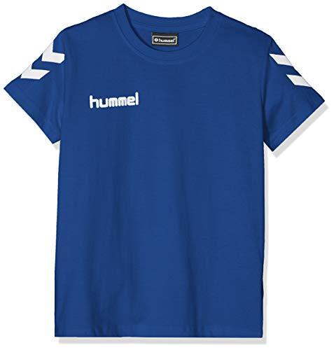 Hummel Kinder T-shirts Hmlgo Kids Cotton, blau (True Blau), 164 (2XL)