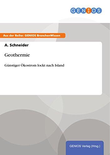 Geothermie: Günstiger Ökostrom lockt nach Island