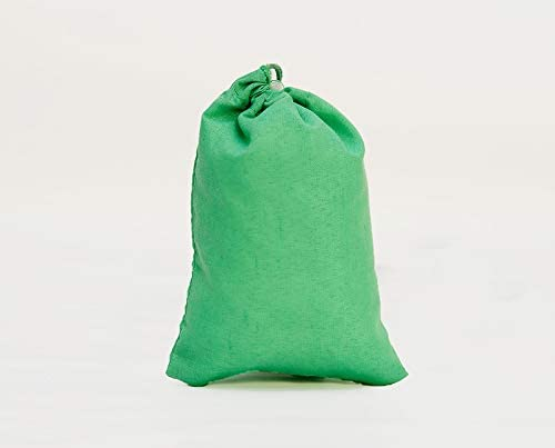12x20 inches Green Cotton Bags And Reusable Pro Memphis safety Mall Biodegradable