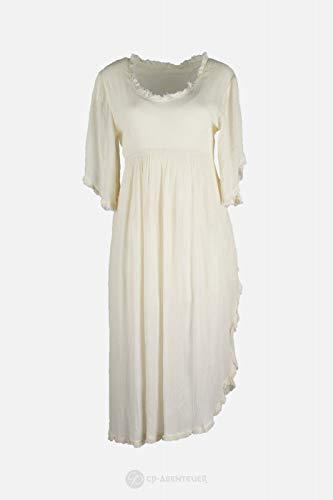 CP Abenteuer Mittelalter Kleid leichtes Sommerkleid LARP Used Look (Large)
