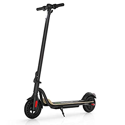 M MEGAWHEELS S10 Electric Scooter, 3 Gears, Max Speed 25 km/h, 22 KM Powerful Battery with 8'' Tires Foldable Electric Scooter for Adults, Children, Max Load 100KG