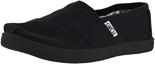 TOMS TOMS Classics Youth Black Canvas 32.5