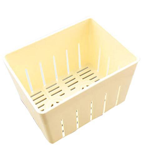 Elenxs Tofu prensado Molde del Fabricante de moldes de plástico Bricolaje casero cuajada de Soja con Queso paño de Cocina Herramienta de Cocina