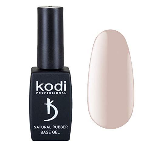 Kodi Professional Base Coat Überlack Ivory Natural 12ml | Einweichgel, Nagelpolitur | Für langlebige Nägel | Einfach zu verwenden, ungiftig & geruchlos | Aushärtung unter LED oder UV-Lampe