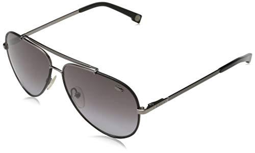 Lacoste L171SL 033 Gafas de sol, Negro, 58 Unisex Adulto