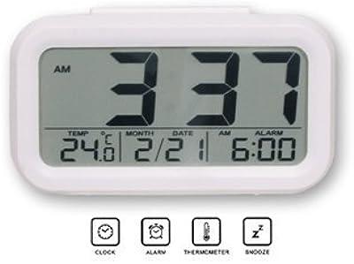 Digital Réveil Horloge Alarm Clock Calendrier Numérique