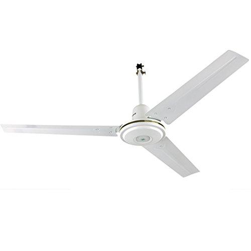 Liuyu · Accueil Ventilateur De Plafond Blanc Grand Volume D'air Salon Ventilateur Feuille Droite Ventilateur De Plafond 56 Pouces Grand Diamètre Longue Durée Qualité Moteur