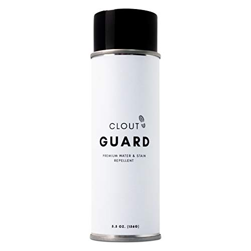 Clout Guard - Premium Water and Stain Repellent - Waterproof and Protect Suede, Leather, Nubuck, Fabric, Nylon, Polyester and More - Sneakerhead Protector for All Sneakers, Shoes, Boots, Accessories