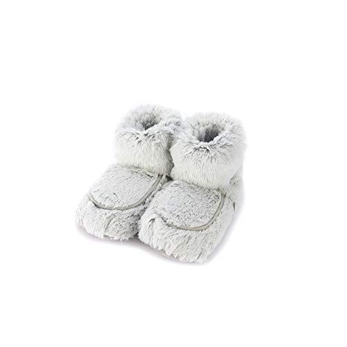 Warmies Vollheizbare Wellnessstiefel mit französischem Lavendel - Grey Marshmallow,