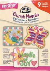Punch Needle Embrd Transfer Pks-Kid's Corner