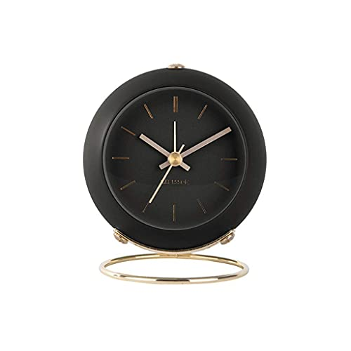 Water cup Modern Table Lamp Table Clock Home Mini Alarm Clock Mute Nordic Style Lamp Luxury Simple Watch Clock Four Colors Grandfather Clock Clocks (Color : A)