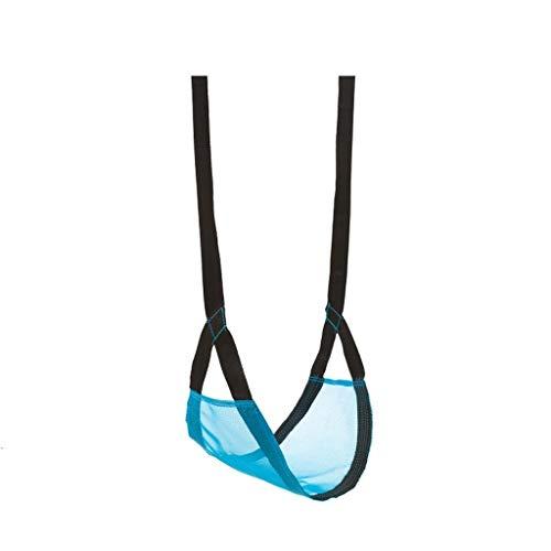 Balancelle de Jardin Enfants de Trapeze, intérieur et extérieur Chaise Hanging Swing enfant portable jouet sac en tissu suspendu pendaison panier Balançoire Balançoire (Color : Blue)