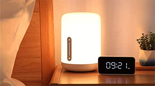 Xiaomi Mi Bedside Lamp 2 Blanco EU Nachttischlampe, Dimmbar,