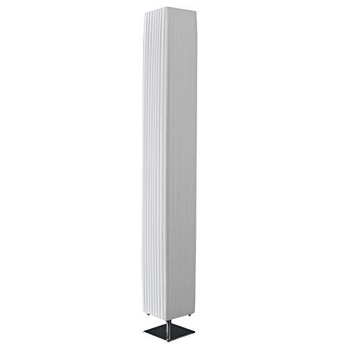 Stylische Stehlampe PARIS XXL 160cm weiss E27 40W Stehleuchte Wohnzimmerlampe