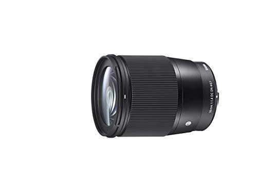 Sigma 16mm F1,4 DC DN Contemporary Objektiv (Filtergewinde 67mm) für Canon EF-M Objektivbajonett
