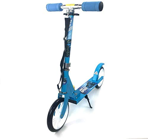 New HNSYDS Kick-Leg Scooter Toddler Foldable, Height-Adjustable Metal with 200mm Large Wheels Scoote...