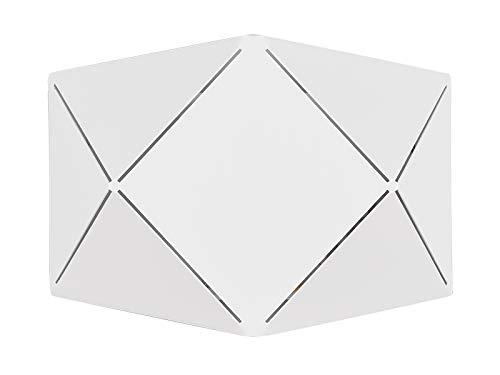 Preisvergleich Produktbild Trio Leuchten LED Wandleuchte Zandor 223510131,  Metall Weiß matt,  inkl. 6.5 Watt LED