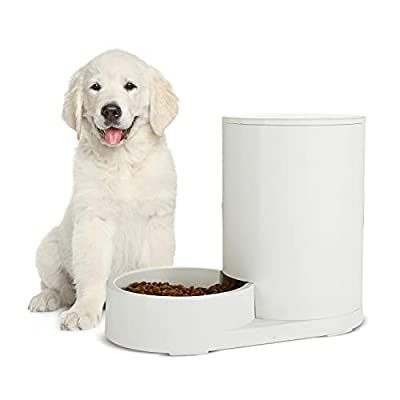 Amazon - 72% Off on  Automatic 2.5L Dog Cat Water and 5L Feeder, Gravity Water and Feeder for Dogs and Cats