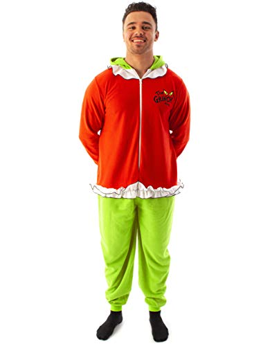 The Grinch Onesie Pijama Unisex Adultos 3D Loungewear