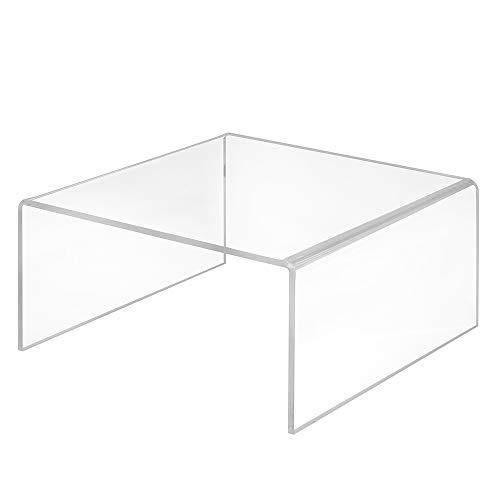 Dekobrücke aus Acrylglas in 200x100x200mm - Zeigis® / Warenträger/U-Ständer/Acrylständer/Warenpräsentation/Dekoständer/Dekoaufsteller