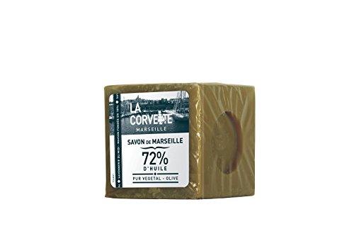 La Corvette, Marseille Olive Seifenwürfel, 500 g