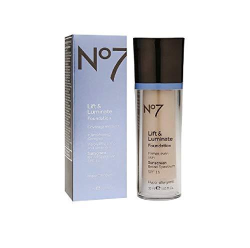 No7 Lift & Luminate Foundation Warm Beige by No7