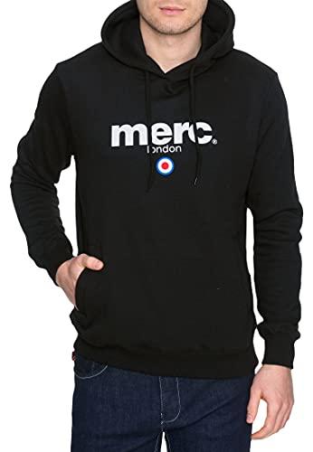 Merc of London Pill, Hooded Sweatshirt Sweat-Shirt, Noir (Noir), Medium (Taille Fabricant: M) Homme