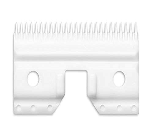Andis keramiek Edge koolstofgecoat staal Pet Clipper lemmet, Medium cutter, Medium, n/a