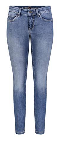 MAC Jeans Damen Dream Skinny Jeans, D432 (Authentic Summer Blue wash), 42/32