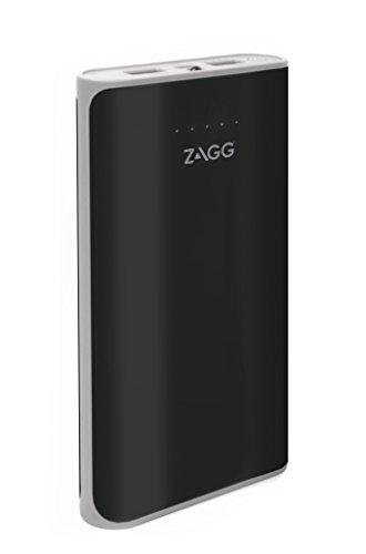 ZAGG IFIG12-BK0 Zündung 12000 mAh Dual USB Portable Ladegerät mit Blitzlicht Schwarz