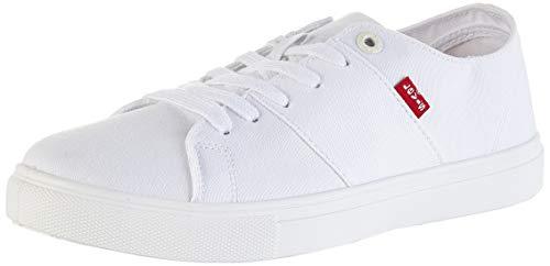 Levis Pillsbury, Zapatillas Hombre, Blanco (R White 51), 44 EU