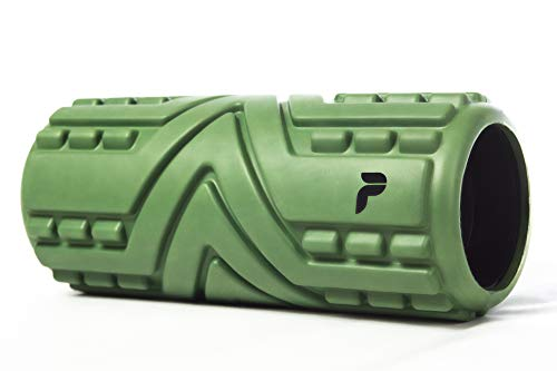 Premvida Vibrating Foam Roller 3-Speed High Density Extra Firm Electric Trigger Point Muscle Recovery Roller for Running, Hard Deep Tissue Sports Massage, Back Massage for Pain and Myofascial Release