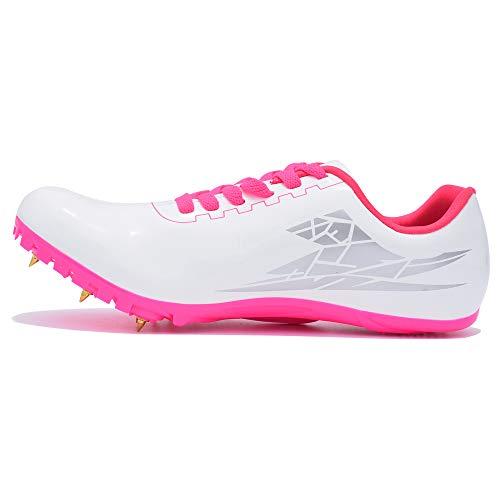 Thestron Trainingsschuhe mit Spikes, für Herren und Damen, zum Laufen, Sporttreiben, Rennstrecken- und Feldrennschuhe mit Spikes, für Jungen und Mädchen
