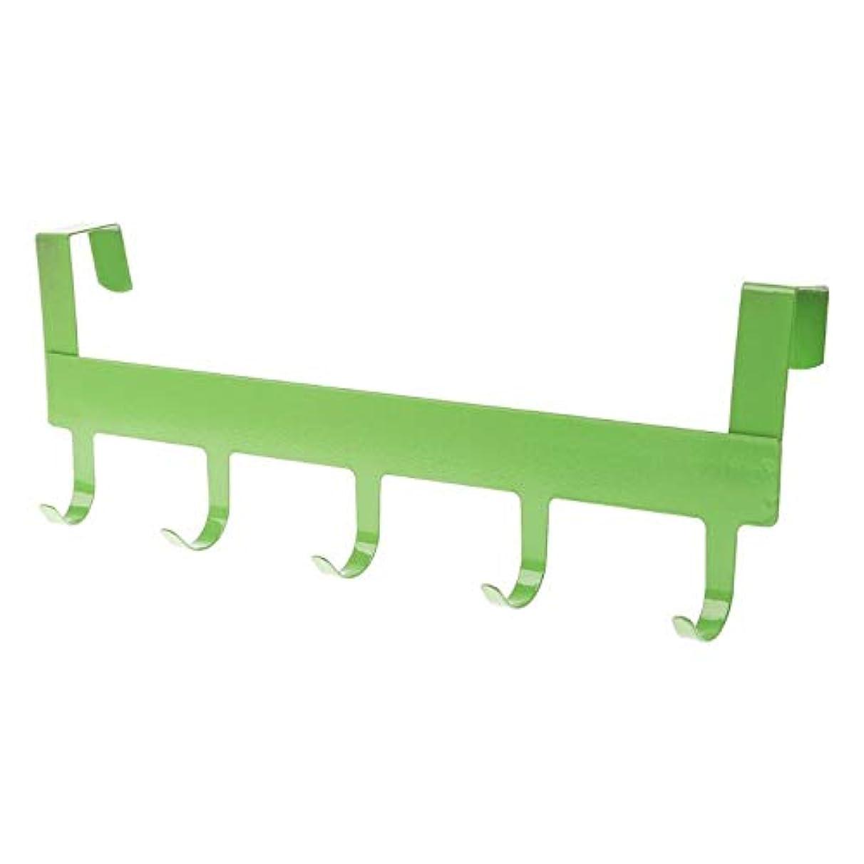 VU ANH TUAN Store Hooks & Rails Door Rack Home Bathroom Kitchen Towel Hanger Storage Hanging Holder Rack 5 Hook