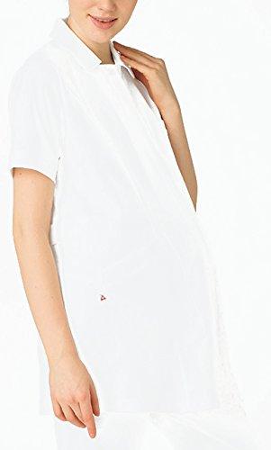医療向けマタニティウェア マタニティジャケット ルコック バニラ サイズ:L UQW1026-1
