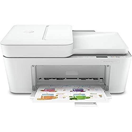 HP DeskJet Plus 4120 Imprimante multifonction (Instant Ink, imprimante, photocopieur, scanner, envoi de fax mobile, Wi-Fi, Airprint)