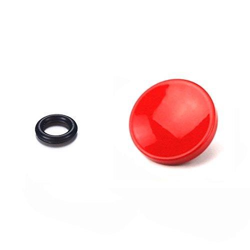 LXH 1 botón de disparador suave rojo para cámara con toma de disparador compatible con Fujifilm X-PRO2, XPRO-1, X100F, X100T, X100, X100S, X10, X20, X30