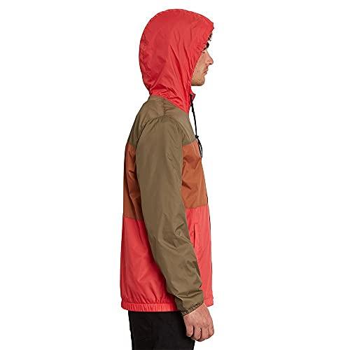 Volcom Ermont Carmine Red - Chaqueta para hombre, color rojo, rojo, XS