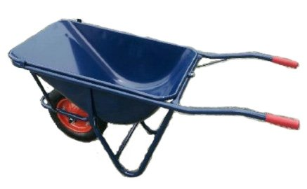 一輪車 (農業用 園芸用 飼料用) 鉄製 3才積 深型