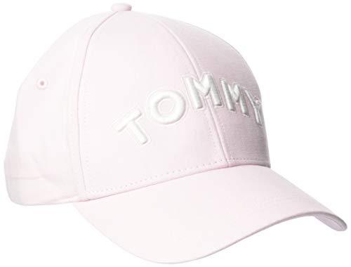 Tommy Hilfiger Damen Tommy Patch Cap, Pink (Silver Peony 644), One Size
