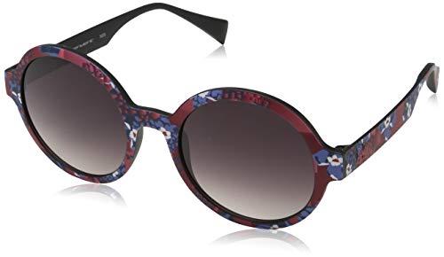 Dior mannen DIOR0200S HD UI9 55 zonnebril, (zwart rubber/grijs gearceerd)