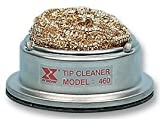Xytronic Tip Cleaner with Non Corrosive Brass Wire Sponge, No water needed