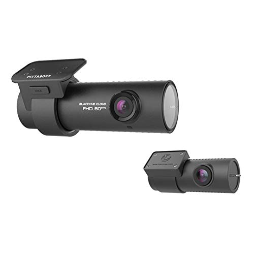 BlackVue DR750S-2CH (32 GB) Front and Rear Cloud Connected Wi-Fi Dash Cam with Wide-Angle Full HD Video at 60 fps/30 fps, Sony STARVIS Night Vision, Parking Mode, GPS and iOS/Android App