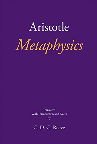 Compare Textbook Prices for Metaphysics The New Hackett Aristotle UK ed. Edition ISBN 9781624664397 by Aristotle,Reeve, C. D. C.