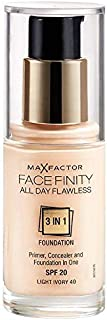 Max Factor Facefinity All Day Flawless 3 In 1 Foundation - Light Ivory 40