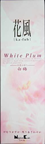 Nippon Kodo - Bastoncini di incenso giapponesi | Ka-Fuh | Fragranza per la casa | 120 bastoncini -* I profumi dei fiori nel vento * (prugna bianca)