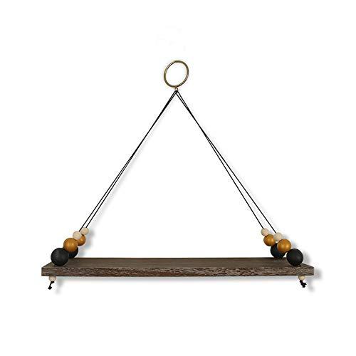 Casinlog Flytande hyllor med string, nordiska pärlor board vägg hängande hylla barn rum barnrum hus väggdekor S